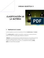 Quimica Clasificacion de La Materia