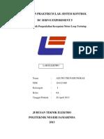 10612008_Laporan Job DC Servo Experiment 5