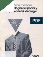 Goran Therborn-La Ideologia Del Poder y El Poder de La Ideologia