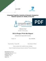 Companionable d11-1.6 Project Website Report