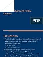 POL 111 -- Political Culture, Political Ideology, Public Opinion