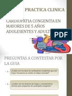 CARDIOPATIA CONGENITA EN MAYORES DE 5 AÑOS ADOLESENTES