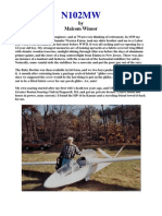 Malolm Winsor Glider Article for Soaring Mag