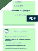 Incoterms Et Logistique