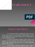 Monetary Policy india