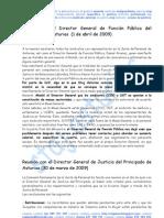0HI 090331 Reunión Director General