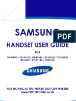 Samsung Handset User Guide