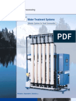 Aria Water Treatment System