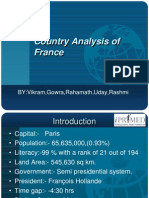 Country Analysis of France