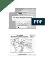 Adkins -Artofmanagingchange Projectmanagementbestpractices2011