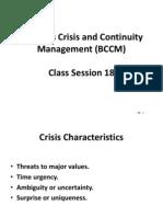 BCCM - Session 18 - Power Point