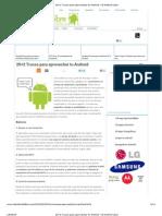 20+2 Trucos para aprovechar tu Android « El Android Libre