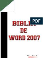 La Biblia de Word 2007