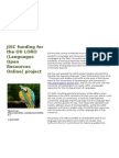 JISC Funding for the OU LORO (Languages Open Resources Online) project