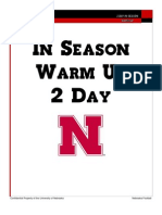 Nebraska - In-Season 2-Day Warmup