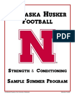 Nebraska - Strength Summer Conditioning