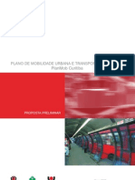 Plano de Mobilidade - Curitiba