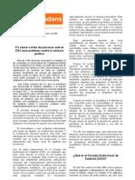 Newsletter Federación Barcelona C's 2008.11.23