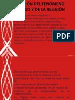 DEFINICIÓN DEL FENÓMENO RELIGIOSO Y DE LA RELIGIÓN