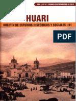 Huari - Boletin de Estudios Historicos y Sociales 1 01