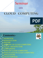 BASIC PPT ON CLOUD COMPUTING