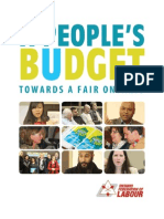 A People's Budget