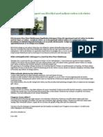 Skrämmande slutrapport om försöket med mikrat vatten och växter