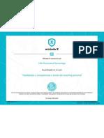 Habilidades y competencias a través del coaching personal-certificado