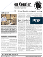 Bison Courier, May 2, 2013