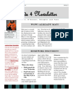 May Newsletter2013