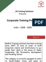 Bodhih - Corporate Training Solutions