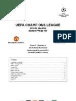 2011-12 (UCL) Manchester United-Otelul Galati