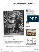 Dr. Terawatt's Journal of Ecstatic Rural Poetics