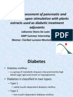 Viability Assessment of Pancreatic and Hepatic Cells upon Stimulation with Plants Extracts used as Diabetic Treatment Adjuvants