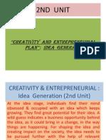 Creativity & Entrepreneurial(Iind Unit) (1)