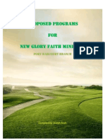 Proposed Programs for New Glory Faith Ministry_ph