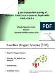 Scavenging and Antioxidant Activity of Aqueous Plant Extracts towards Superoxide Radical Anion