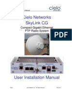 Cielo Networks SkyLink CG Installation Manual