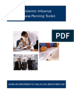 BCCM - Session 23 - Handout IV - Pandemic Influenza Business Planning Toolkit