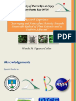 Scavenging and Antioxidant Activity Towards Superoxide Radical of Plant Extracts used as Diabetes Adjuvant