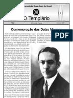 Jornal o Templario Ano2 n6 Out 2007