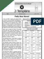 Jornal o Templario Ano3 n9 Jan 2008