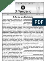 Jornal o Templario Ano3 n15 Jul 2008