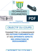 Techniques Douaniere 1a Mci