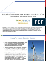 Doubly Fed Induction Generator technology (DFIG) Patent Search and Analysis Report