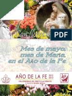 Mes de Mayo, mes de María, en el Año de la fe.