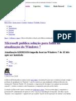 Microsoft publica solução para falha na atualização do Windows 7 _ Tecnoblog