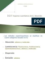 2.2.1aspectos Cuantitativos de Las Medidas Espectroquimicas