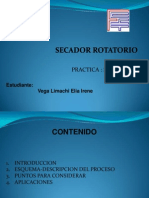 EXPOSICION de Secador Rotatorio Irene