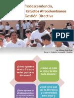 Afrodescendencia - CEA y Gestión Directiva